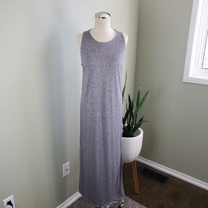 H&M Divided Grey Maxi Dress Size 8